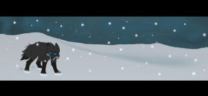 Blade animation, snow storm by MQSdwz35