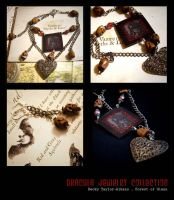 Dracula Jewelry Collection by PstMadamX