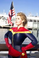Captain Marvel: America, Fuck Yeah by BelleChere