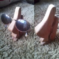 Easter Island glasses mount by handwerker2-0