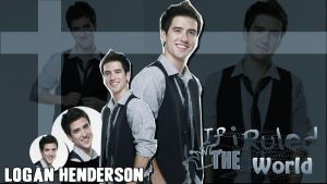 WallPaper de Logan Henderson #3 by JaquelBTR