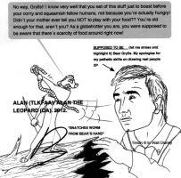 Bear Grylls meets Timon. by Alan-the-leopard