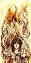 Cathilda Aflame by DominiqueDuong