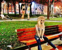 :I Love The Park: Practice by poisoninyourdrink