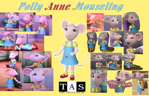 Polly Anne Mouseling Collage by Shafty817
