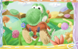 I love Yoshi's Wooly World by Myaco