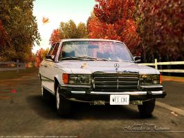 Mercedes in Autumn by ahmednayyer