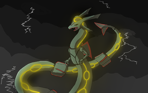 Rayquaza by g-ryphon