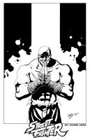 Sagat by Hyperdogproductions