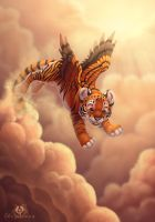 Cloud Jumping by DolphyDolphiana