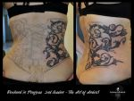 Corsage 2nd Session by Anderstattoo