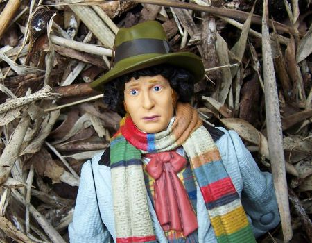 4th Doctor Tom Baker repaint by LYazoo