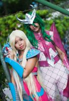 June and Shun - Maxwell and Kiefer by DraconPhotography