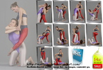 No-Holds-Barred match - Set 63 pics for US 4.50 by MartaModel