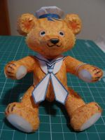 Sailor Teddy Bear Papercraft by bslirabsl