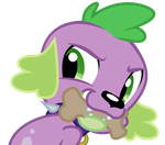 Vector: Spike And Biscuit by PaulyVectors