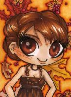 ACEO 46: Autumn cuteness by Forunth