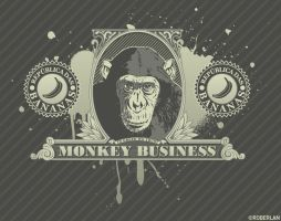 Monkey Business by roberlan