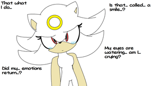 Zero The Hedgehog - The emotions are flowing by MephistaTheDark