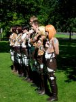 Ayacon 2013 - Attack On Titan 2 by cosmicnut
