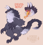eyeless beast adopt auction by ForestFright