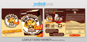 leaflet koko krunch by dodpop