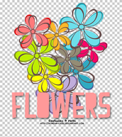 Flowers PNG by athena-cris