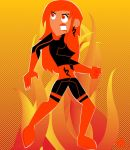 this girl is on fire by FirePhantasma