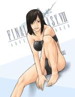 FF7AC: Tifa Pin Up by Marshu