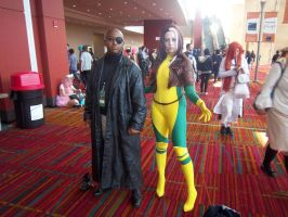 CTcon '12 - Nick Fury and Rogue by TEi-Has-Pants
