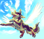 Flying Mootie by Mootdam