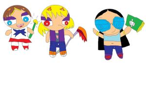 the girls of sho ppg style by shobaro