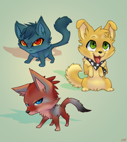 Character Chibis -Blade- by Lightningkin