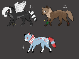 Adoptable Batch 1 Closed by ShinuAdopts