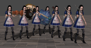 AliceWonderlandMini Armed wip2 by tombraider4ever