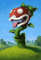 Piranha Plant by DQuinn89