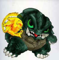Gamera by Amwuensch