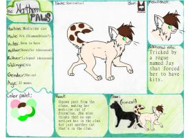 Spottedtail reff sheet by americacat1