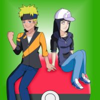 Request: Naruhina Pokemon by queenjazz225