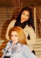 Candy and Angeline by igarcia