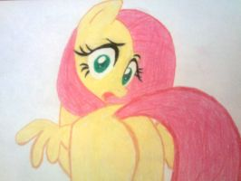 fluttershy-ass up by perry99
