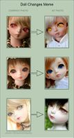 Doll Changes Meme 04 by fransyung