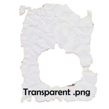 Torn Paper - transparent by TexelGirl-Stock