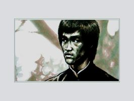Bruce lee Close up by tonio48
