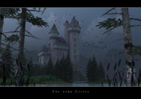 The dark castle by rapscallionmonkey