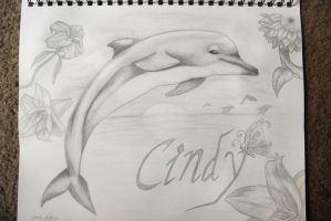 Cindy  the Dolphin by Grim-Heaper