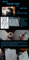 Sailor moon : tutorial by risaki-chan