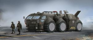 Special troops ground transport by AlbyU