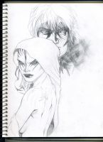 Unfinished Doodle from 2012 by S0UL-ReaperX