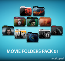 Movie Folders Pack-01 by musicopath